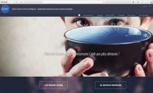 Refonte du site internet d'une association caritative