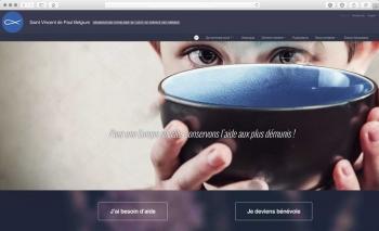 Refonte du site internet | Association caritative | Saint-Vincent de Paul