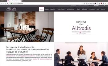 Création du site internet | Traduction | Alltradis