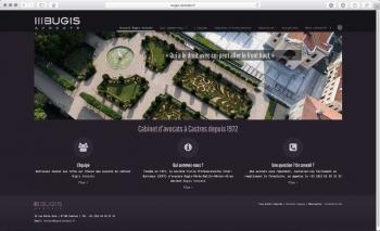 Création du site internet | Cabinet d'avocats | Bugis