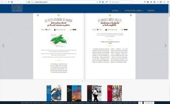 Création du site internet | Société d'édition | Éditions JB Conseil