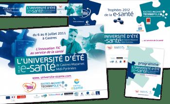 Concept board et charte graphique d'un événement | Castres-Mazamet