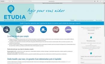 Création du site internet | Expertise en assurance | Etudia
