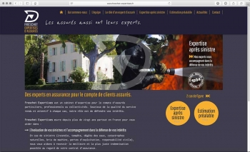 Création du site internet | Expertise en assurance | Freschet Expertise
