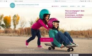 Création du site internet d'un cabinet de conseil en développement durable, id&d