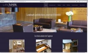 Création du site internet d'un cabinet d'architecture