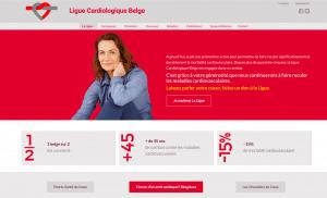 Création du site internet d'une ligue médicale