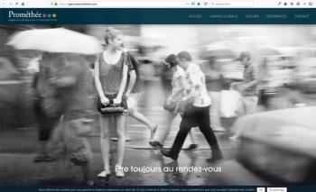 Création du site internet | Agence de communication | Prométhée