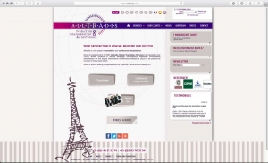 Webdesign d'une agence de traduction