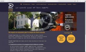 Création du site internet d'une société d'expertise en assurance