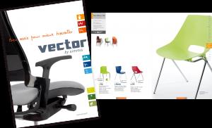 Création d'un catalogue pour des sièges de bureau