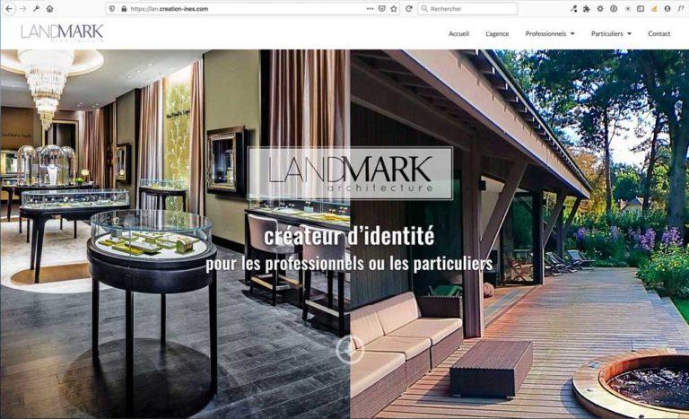 Refonte du site Internet de Landmark Architecture